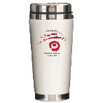 EoS Travel Mug with Red & Black Insignia